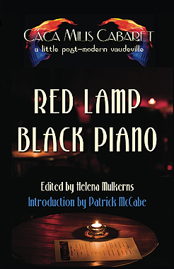 Red Lam Black Piano